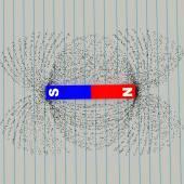 Magnetic field symbol — Stock Photo