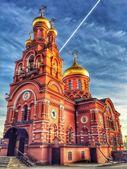 Orthodox Church, Moscow — Stock Photo
