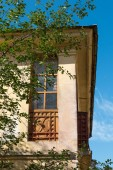 Old architecture, window — Stock Photo