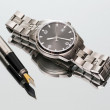 Wrist Watch. pen. close — Foto de Stock   #73784963