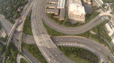 Atlanta city aerial — Vídeo de Stock