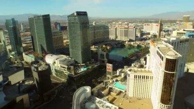 Las Vegas Aerial Cityscape — Video Stock