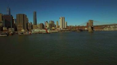 Manhattan Financial District. — Vídeo stock