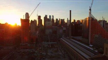 New Yorks antenn — Stockvideo