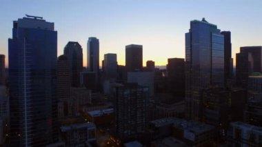 Seattle antény — Stock video
