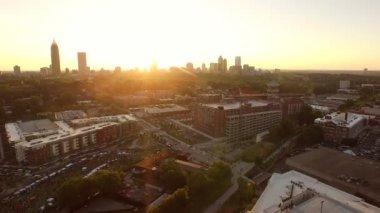 Atlanta Aerial — Stock Video