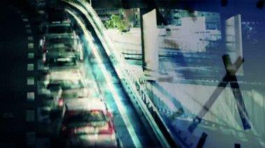 Rush hour — Stock Video