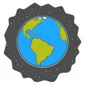 Ziemia z kosmosu — Wektor stockowy