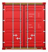 Cargo container — Stock Vector