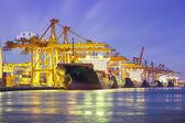 Lastfartygnákladní loď — Stockfoto