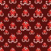 Seamless christmas vector illustration background — Stock Vector