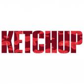 Ketchup sign — Stockvektor