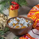Kutia - traditional Christmas sweet meal in Ukraine, Belarus and — Stock Photo #52877257