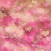 Abstract festive background with pink heart  — Zdjęcie stockowe