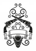 Blackpowder Tattoo — Stock Vector