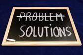 Soluciones del problema — Foto de Stock