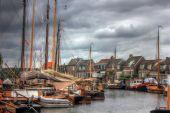 Bunschoten-spakenburg, Nederländerna, Europa — Stockfoto