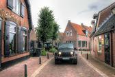 Jeep Wrangler , Netherlands , Europe — Stock Photo
