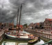 Bunschoten-Spakenburg, The Netherlands , Europe — Stock Photo