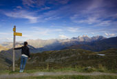 French Alps, Europe — Stock Photo