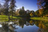 Fyodorovsky Cathedral, Pushkin, Russia — Stock Photo
