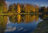 Autumn Park, Russia — Foto Stock
