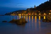 The city of Villefranche-sur-Mer, France — Stok fotoğraf