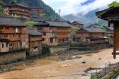 Asian village, China — Stock Photo