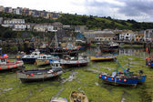 Fishing village, England — Stockfoto