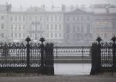 Autumn in St. Petersburg, Russia — Stock Photo