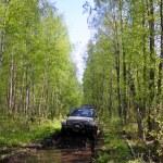 Jeep wrangler in Russia — Stock Photo #59355335