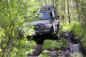 Jeep wrangler in Russia — Stock Photo