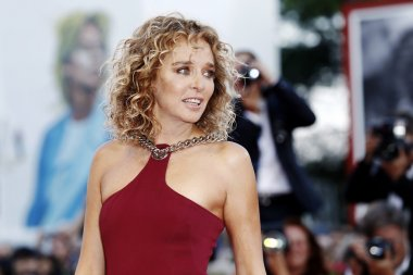 Actress Valeria Golino