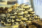 Biscuits aux brisures de chocolat — Photo