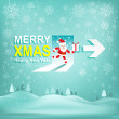"Merry Christmas and New Year 2015 Vector background.""XM AS Sign"" Concept. EPS10 Vector illustration. — Stock Vector #58489161"