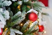 Enfeites de Natal para a árvore de Natal — Fotografia Stock