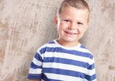 Happy kid smiling and having fun — Foto de Stock