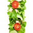 I letter made from salad — Stock Photo #67010545