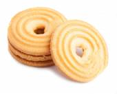 Ring shaped biscuits — Stock Photo