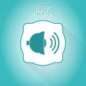 Bell Icon as a Button — Stockvector