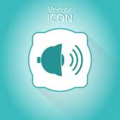 Bell Icon as a Button — Stock vektor