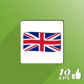 Flagga sverige — Stockvektor