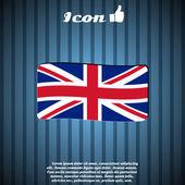 Flag United Kingdom — Stock Vector