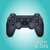 Gamepad Joystick. Joystick game console. Realistic image. — Stock Vector