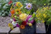 Garden bouquet — Stock Photo