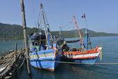 Fishermansboat — Stock Photo