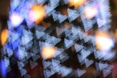 Defocused fondo de luces de navidad — Foto de Stock