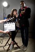 Film producers — Stock Photo