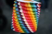 Papírové lucerny — Stock fotografie