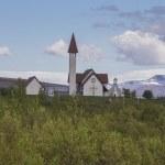Reykholt church — Stock Photo #76894879